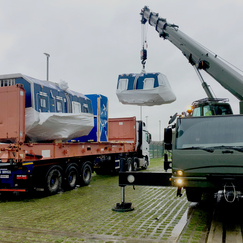 Delivery to Yeovilton