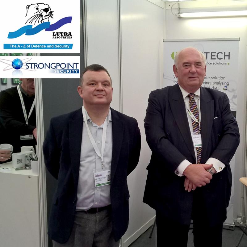 Tim Otter and Dan Kaszeta helping Serstech into the UK market