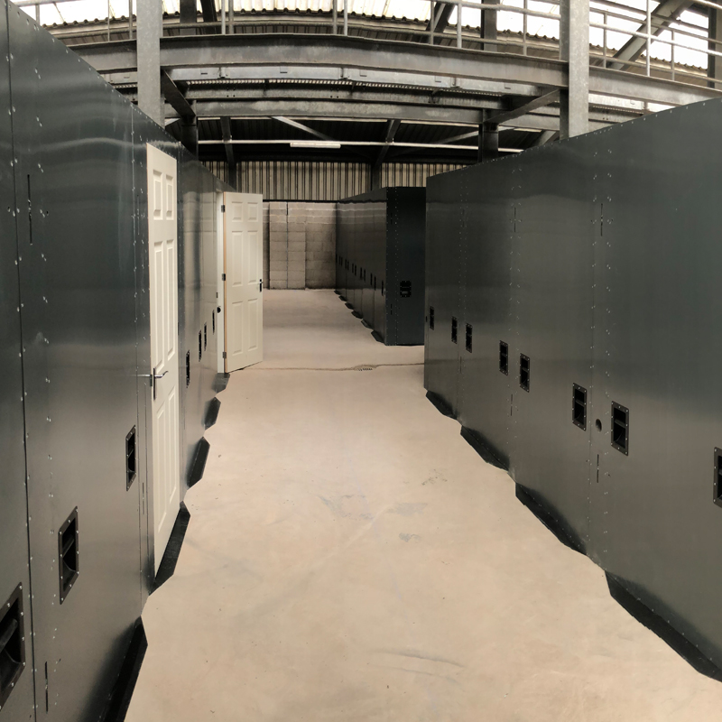 Inside a 4GD training facility
