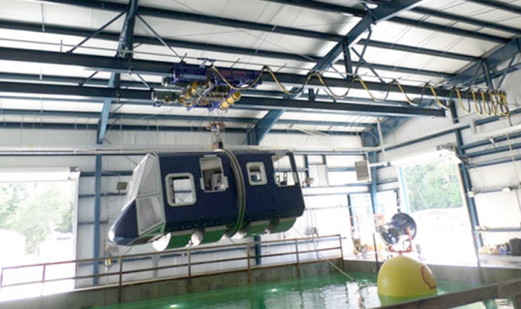 Survival Systems Limited awarded contract by galliford try SW for Cranage Systems for RNAS Yeovilton (HMS heron) Aircraft – Amphibious Vehicle Underwater Escape and Survival Training (AAVUEST) facility