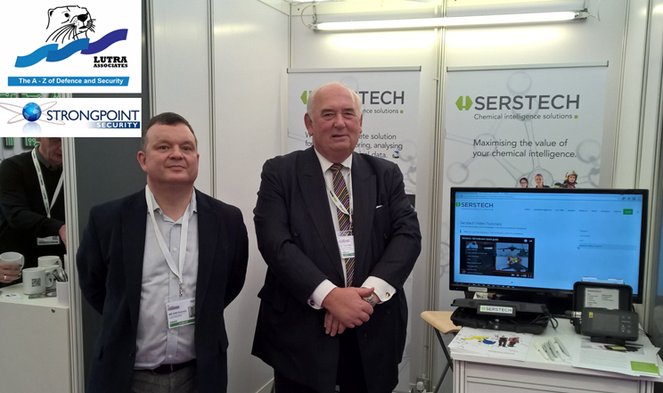 Lutra supports Serstech at Security and Policing 2016